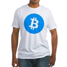 Bitcoin (Cyan Blue) Shirt