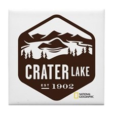 Crater Lake Tile Coaster