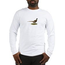 Ringneck Pheasant Afield Long Sleeve T-Shirt