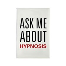 Ask Me About Hypnosis Rectangle Magnet (100 pack)