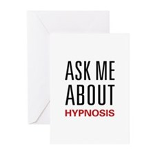 Ask Me About Hypnosis Greeting Cards (Pk of 20)