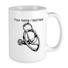 Custom Stethoscope Mugs