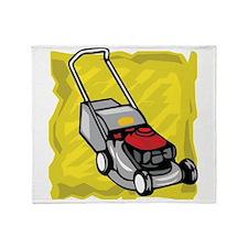 Lawnmower Throw Blanket