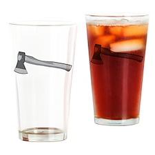 Grey Ax Drinking Glass