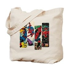 Spiderman Comic Panel Tote Bag