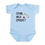 Crawl walk cricket Bodysuits