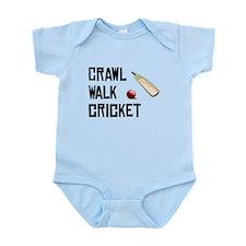 Crawl Walk Cricket Body Suit