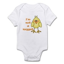 I'm Not A Nugget White Infant Bodysuit