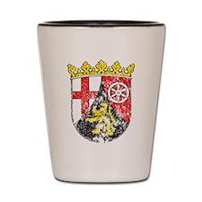 Coat of arms of Rhineland Palatinate Shot Glass