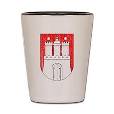 Coat of arms of Hamburg Shot Glass