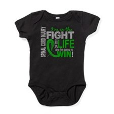 Spinal Cord Injury FightOfMyLife1 Baby Bodysuit