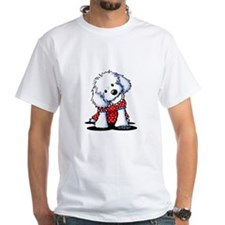 Maltese In Dots Shirt
