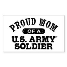 Proud U.S. Army Mom Decal