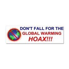 Unique Hoax Car Magnet 10 x 3