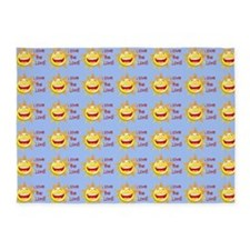 I Love The Lord 5'x7'area Rug