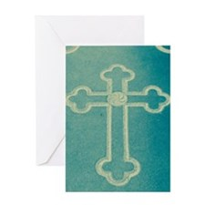 Stone Cross Greeting Card