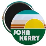 John Kerry Retro Sunrise Magnet