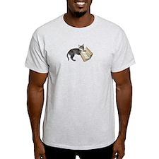 Reading Cat T-Shirt