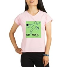 kick it, c. Sarah Long Performance Dry T-Shirt