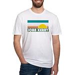 John Kerry Retro Sunrise Fitted T-Shirt