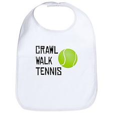 Crawl Walk Tennis Bib