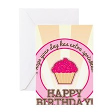 Extra Sprinkles Birthday Greeting Card