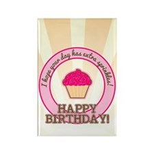 Extra Sprinkles Birthday Rectangle Magnet