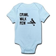 Crawl Walk Row Body Suit
