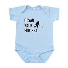Crawl Walk Hockey Body Suit