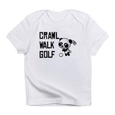 Crawl Walk Golf Infant T-Shirt
