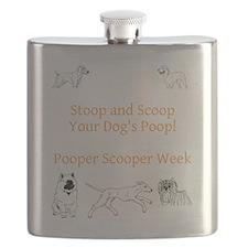Pooper Scooper Week Flask