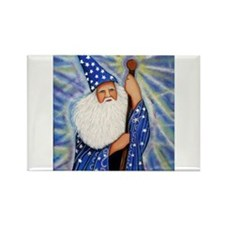 Cute Wizard Rectangle Magnet (10 pack)
