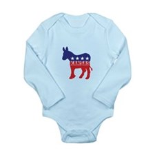 Kansas Democrat Donkey Body Suit