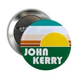 "John Kerry Retro Sunrise 2.25"" Button (10 pack)"