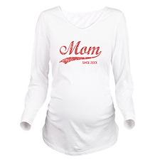 Personalize Mom Sinc Long Sleeve Maternity T-Shirt