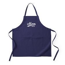 Personalize Mom Since Apron (dark)