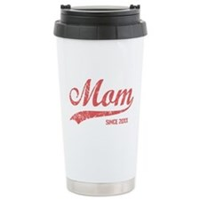 Personalize Mom Since Travel Mug