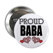 "Proud BABA (2) 2.25"" Button (10 pack)"
