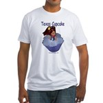 Texas Cupcake Fitted T-Shirt