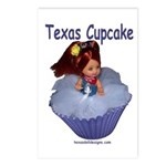 Texas Cupcake Postcards (Package of 8)