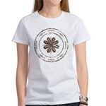 create, inspire (brown) Women's T-Shirt
