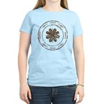 create, inspire (brown) Women's Light T-Shirt