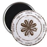 create, inspire (brown) Magnet
