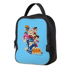 Lazy Town Group Neoprene Lunch Bag