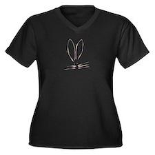 Water Color Bunnie (T) Plus Size T-Shirt