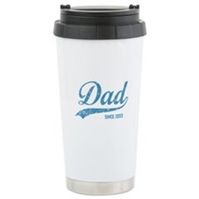 Personalize Dad Since Travel Mug
