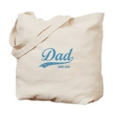 Personalize Dad Since Tote Bag