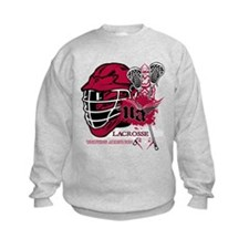 Undying Addiction Mens Lacrosse Sweatshirt