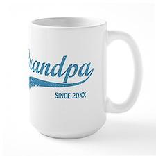Personalize Grandpa Since Coffee Mug