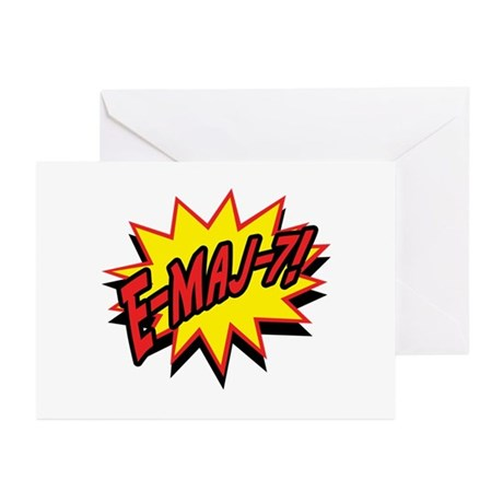Power Chord Greeting Cards (Pk of 10)